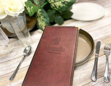 Full service restaurant menu