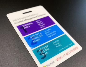 Card badges with holder slot