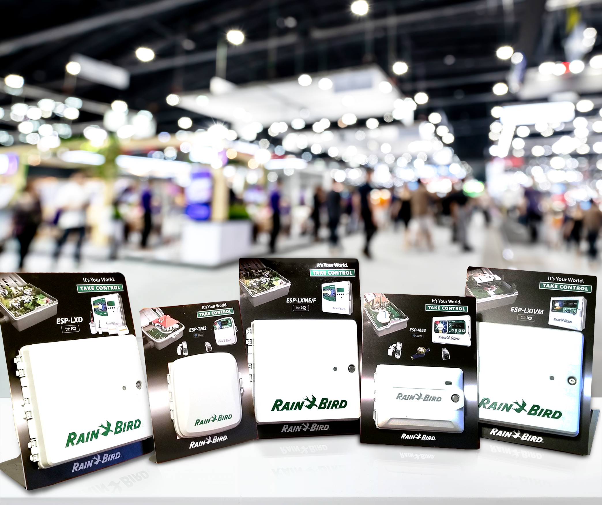 Trade show displays for products