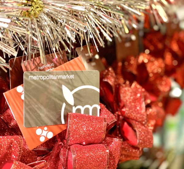 Gift card for the holidays
