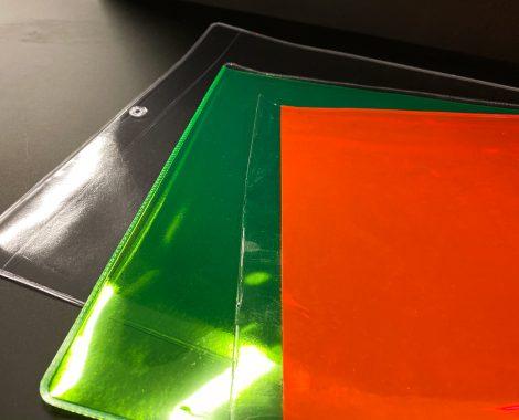 Custom Ziploc products in colors